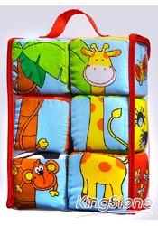 寶寶可愛動物布骰