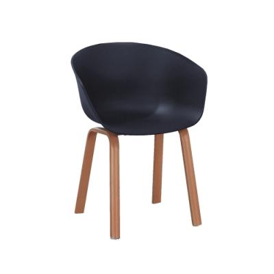 柏蒂家居-艾莉森曲線造型休閒椅-單椅(二色可選)-59x42x82cm