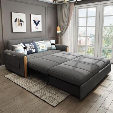 多功能可折疊簡約懶人沙發床小戶型客廳雙人坐臥兩用1.5米可儲物
