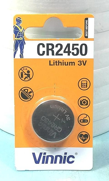 Vinnic 3V水銀電池 CR2450~水銀電池《八八八e網購