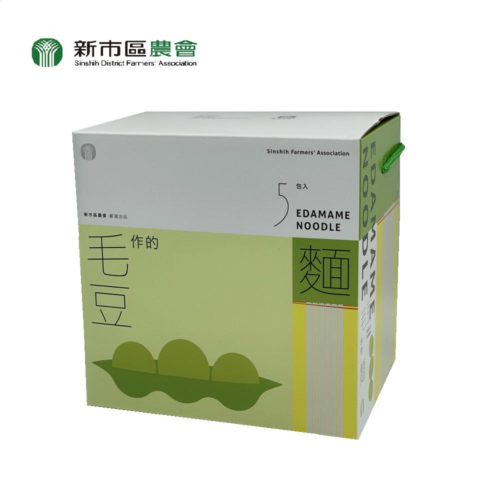 (任選)【新市區農會】毛豆拌麵 5包/盒