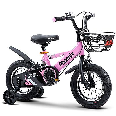 兒童自行車 男孩2-3-6-7-10歲兒童小孩腳踏單車女孩女童公主款【快速出貨】