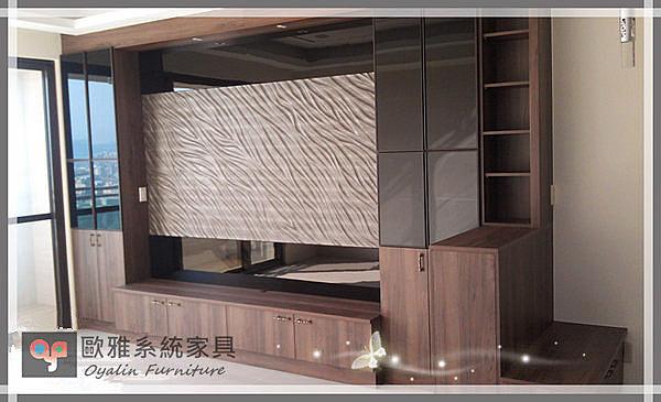 【系統家具】電視櫃結合矮坐鞋櫃