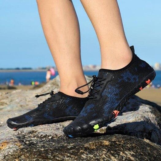 涉水溯溪鞋男速幹沙灘鞋戶外徒步登山鞋防滑漂流鞋水陸兩棲男鞋子 樂活生活館