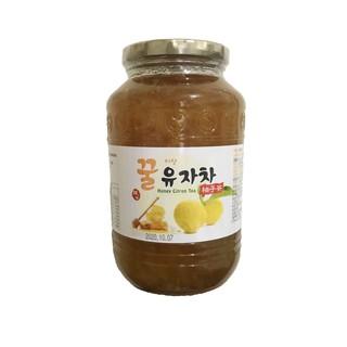韓國 蜂蜜柚子茶 1KG 豐富的果肉喔 2021.07.18