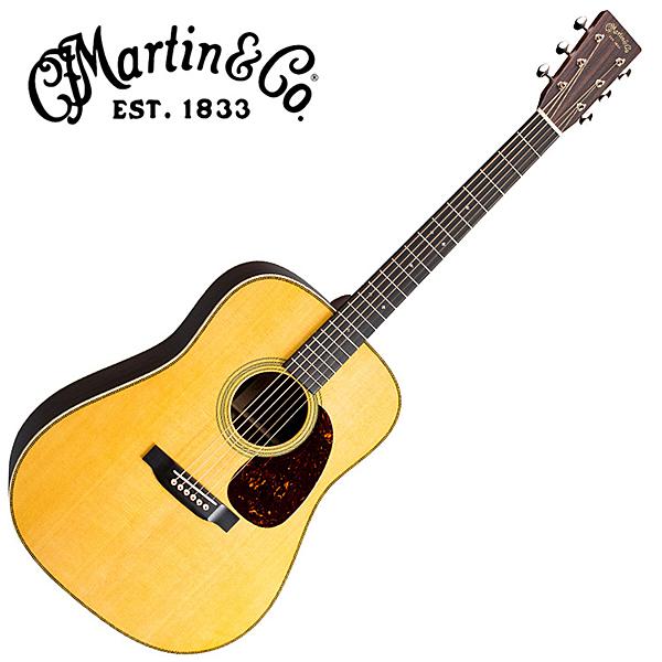 Martin HD-28 嚴選錫特卡雲杉單板 東印度紅木吉他 - 附琴盒/原廠公司貨