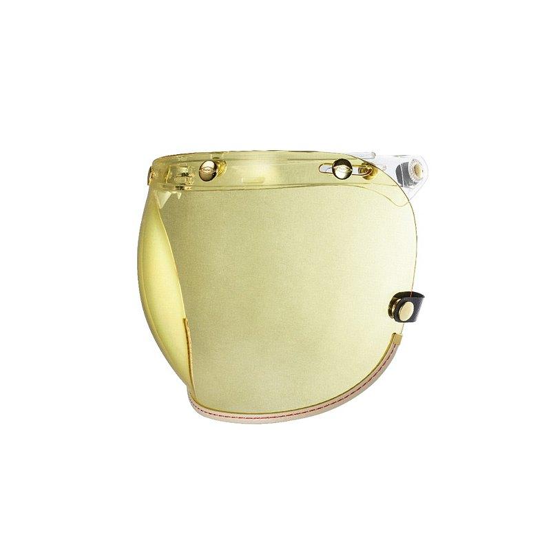 乳白皮革TOP_PP釦式風鏡-黃色