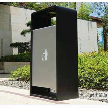 戶外垃圾桶不銹鋼創意小區環衛收納桶立式煙灰桶大容量定制LOGO桶
