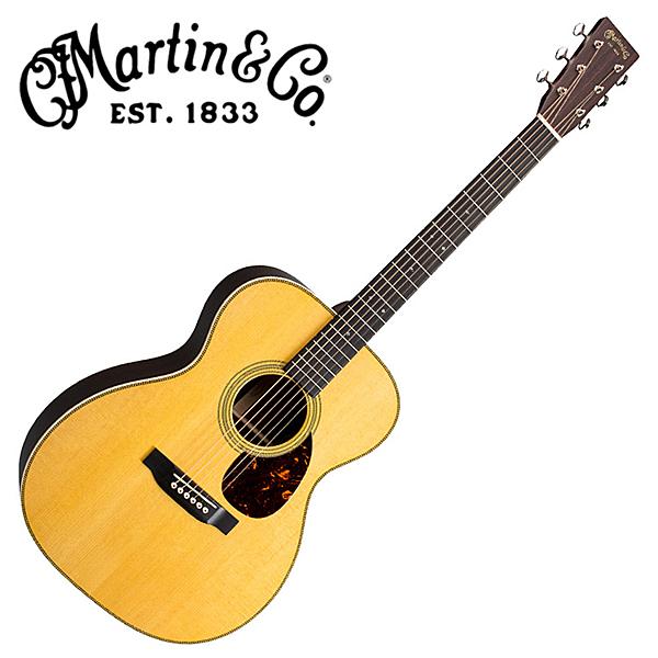 Martin OM-28E 嚴選錫特卡雲杉單板 東印度紅木背側面板電吉他
