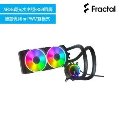 【Fractal Design】Celsius+ S24 Prisma水冷散熱器