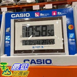 [COSCO代購] C113847 CASIO 溫濕度顯示電子掛鐘 CASIO DIGITAL WALL CLOCK MODEL #ID-17