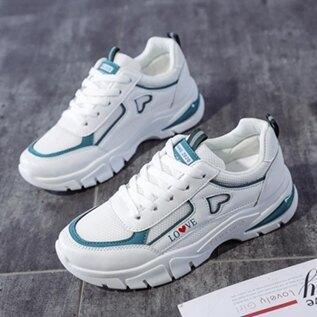 老爹鞋子女2020年春款新款網紅百搭休閒跑步運動鞋小白鞋春季ins  全館免運