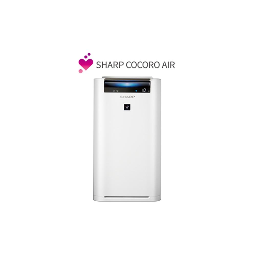 【SHARP 夏普】16坪 日製原裝AIoT智慧空氣清淨機 KC-JH71T-W