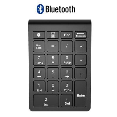 無線數字鍵盤 藍芽數字小鍵盤無線內置輕薄銀行財務會計筆記本平板電腦手機通用『XY3443』