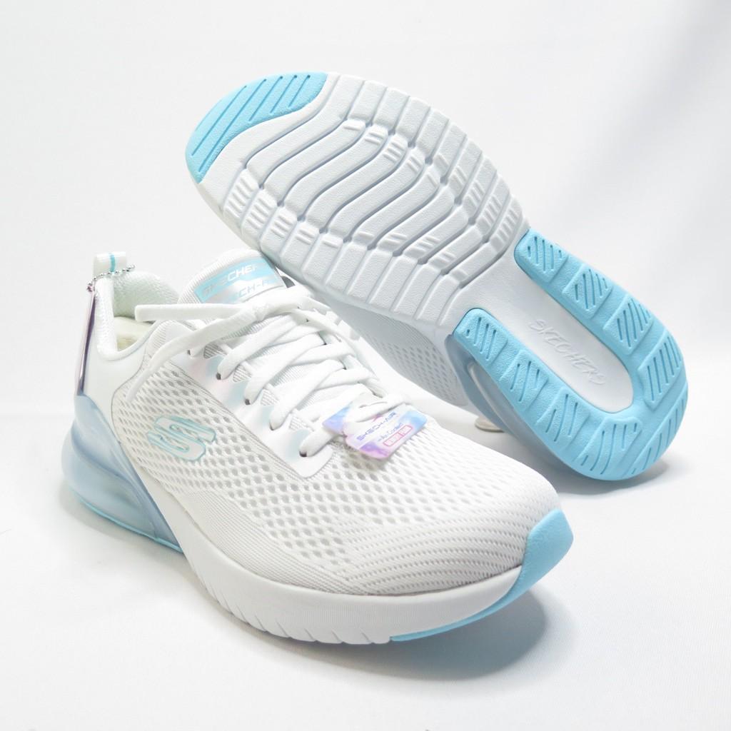 Skechers AIR STRATUS 休閒鞋 氣墊 149123WLB 女款 白藍【iSport愛運動】