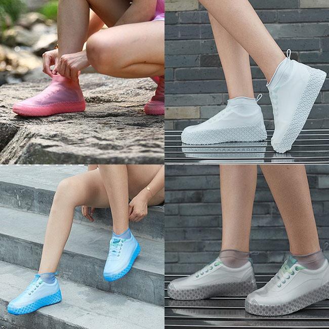 FOFU-防水鞋套無氣味可折疊便攜放水防滑鞋套【02S12186】