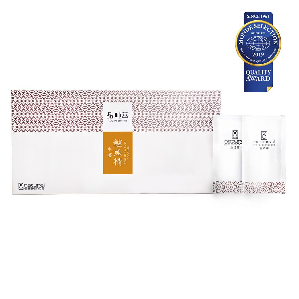 《品純萃》牛蒡鱸魚精(20入/盒)+(期間限定)加贈2包