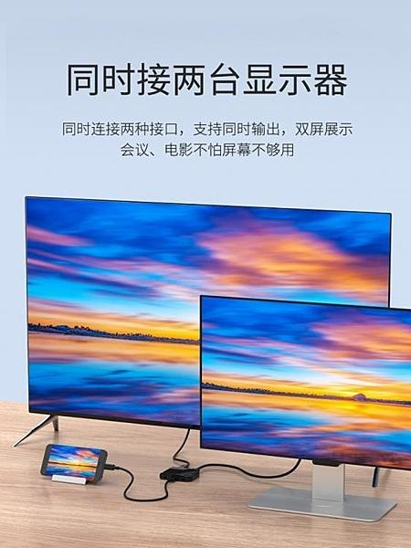 HDMI轉接頭 手機電視機投屏器同屏器轉換器投影儀連接線有線安卓蘋果通用數據線 【【快速】】