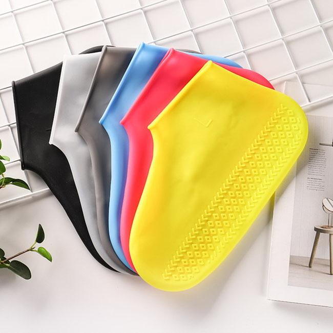 FOFU-防水鞋套環保矽膠無異味折疊迴圈利用防水鞋套【02S12190】