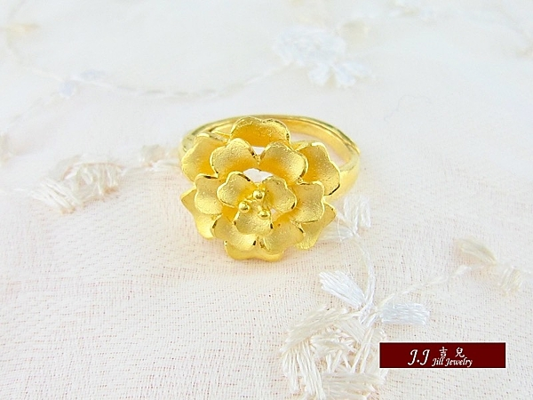 9999純金 黃金 戒指 金飾 女戒指 尾戒 情人禮物 生日 送禮 推薦