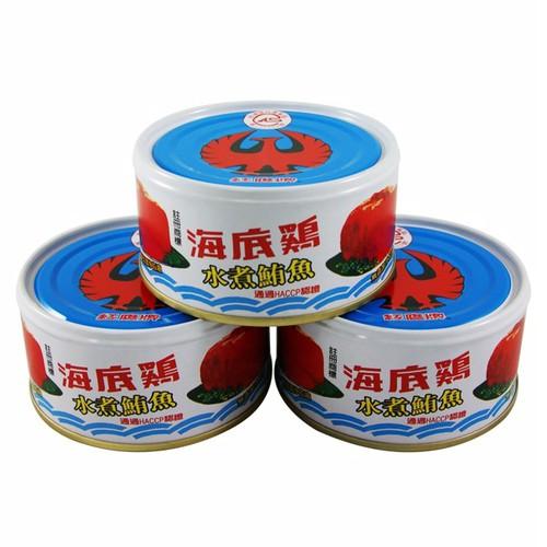 紅鷹牌 海底雞水煮(170gx3罐/組)[大買家]