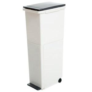 HomeZone 直立雙層分類垃圾桶 21L+16L
