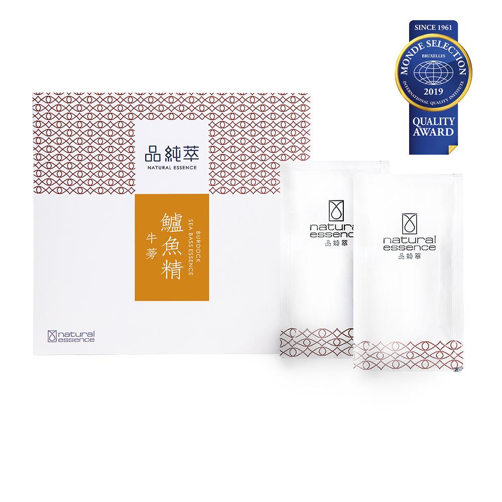 《品純萃》牛蒡鱸魚精(10入/盒)+(期間限定)加贈1包