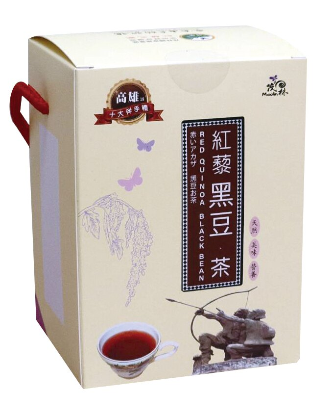 【得樂】紅藜黑豆茶(盒裝8入)