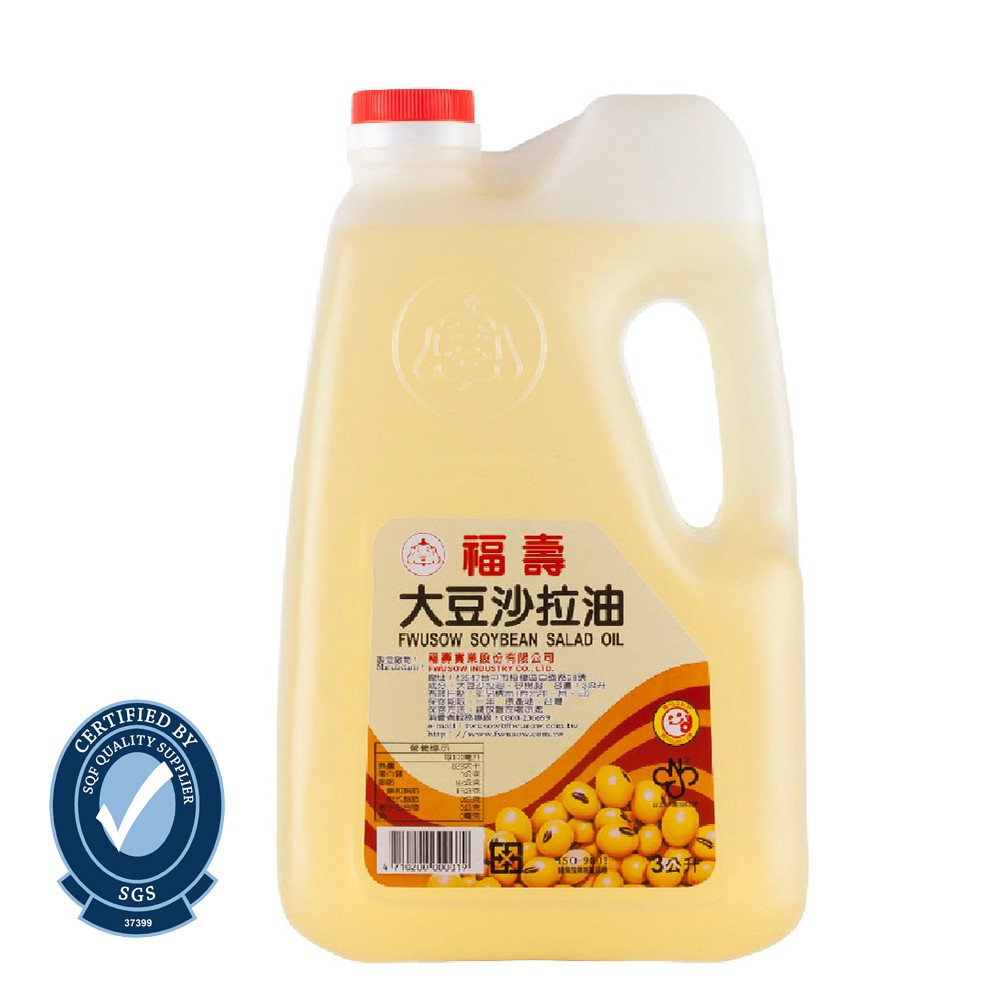福壽-大豆沙拉油3L
