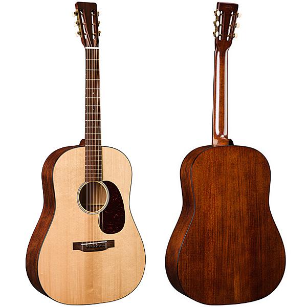 Martin D-1 Authentic 1931 採用VTS阿迪朗達克雲杉單板 桃花心木背板和側板吉他 - 附琴盒/原廠公司貨
