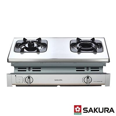 【系統家具】櫻花 SAKURA G6703內燄防乾燒嵌入爐