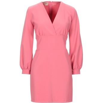 《セール開催中》KAOS JEANS レディース ミニワンピース&ドレス ピンク 40 ポリエステル 88% / ポリウレタン 12%