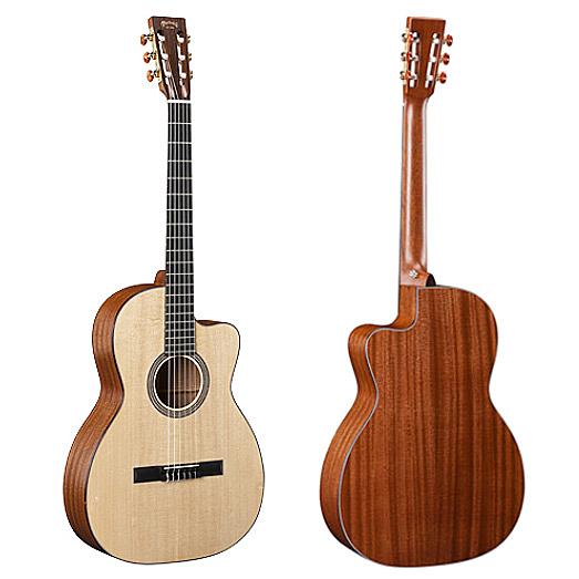 Martin 000C Nylon 錫特卡雲杉單板 沙比利木背側面板古典吉他 - 附琴盒/原廠公司貨