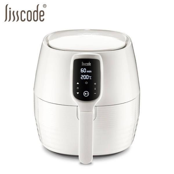 Lisscode  LC-001 白 4.5公升 大容量健康氣炸鍋 送 絨毛矽膠手套+醬料刷 主體2年保固