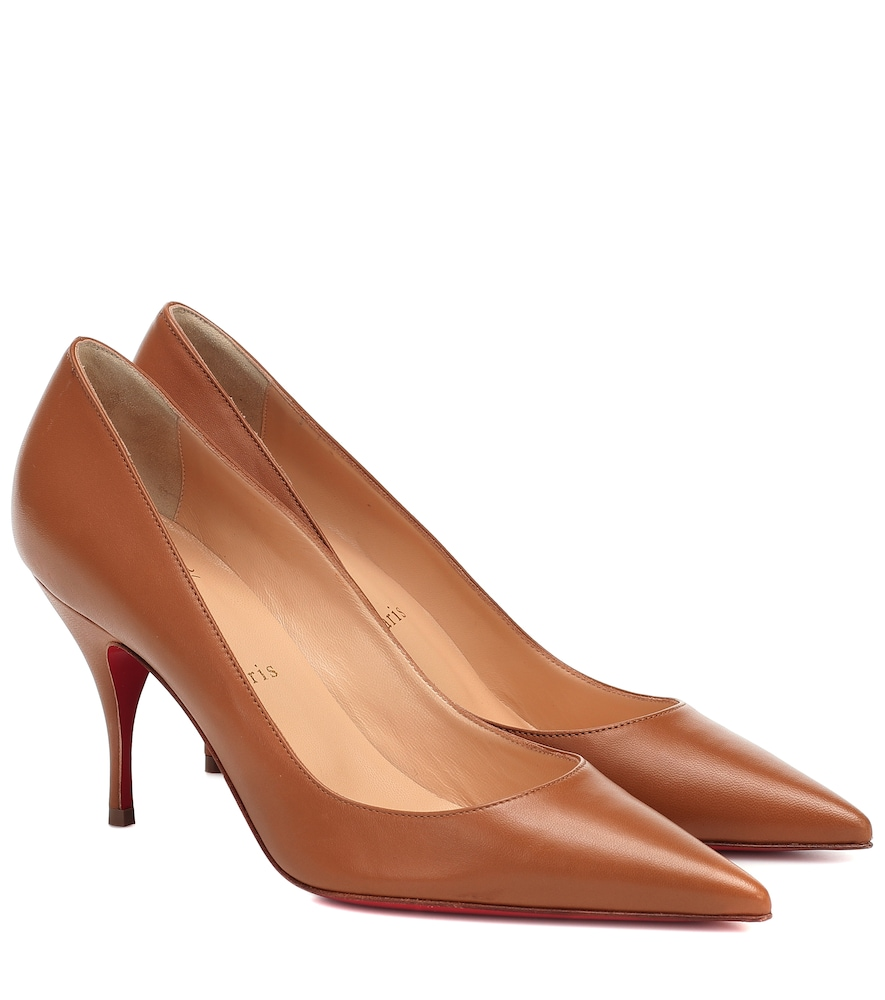 Clare 80 leather pumps