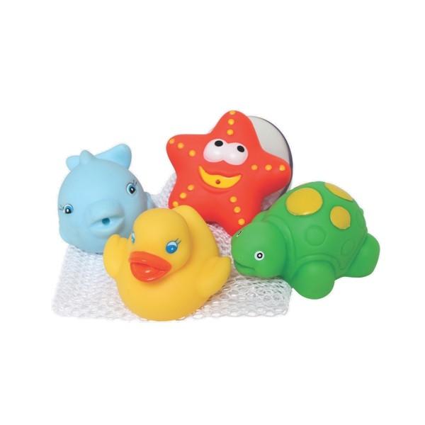 Playgro 軟膠洗澡組/戲水夥伴