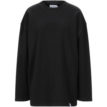 《セール開催中》BERNA レディース スウェットシャツ ブラック 1 コットン 100%