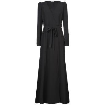 《セール開催中》P.A.R.O.S.H. レディース ロングワンピース&ドレス ブラック XS ポリエステル 97% / ポリウレタン 3%
