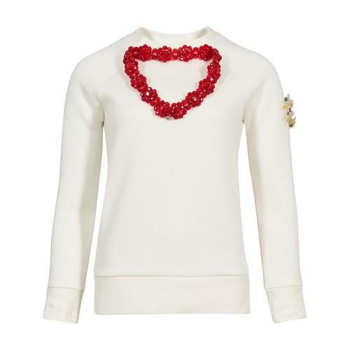 4 Moncler Simone Rocha jewel collar sweater