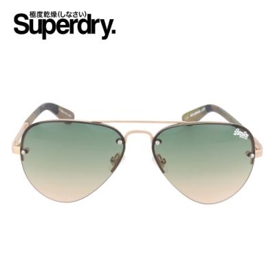 Superdry極度乾燥 墨鏡/太陽眼鏡 YATOMI系列 經典細框三角鏡片雷朋款_三色