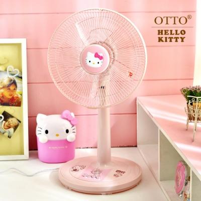 HELLO KITTY 12吋 3段速定時機械式電風扇 KT-826 台灣製