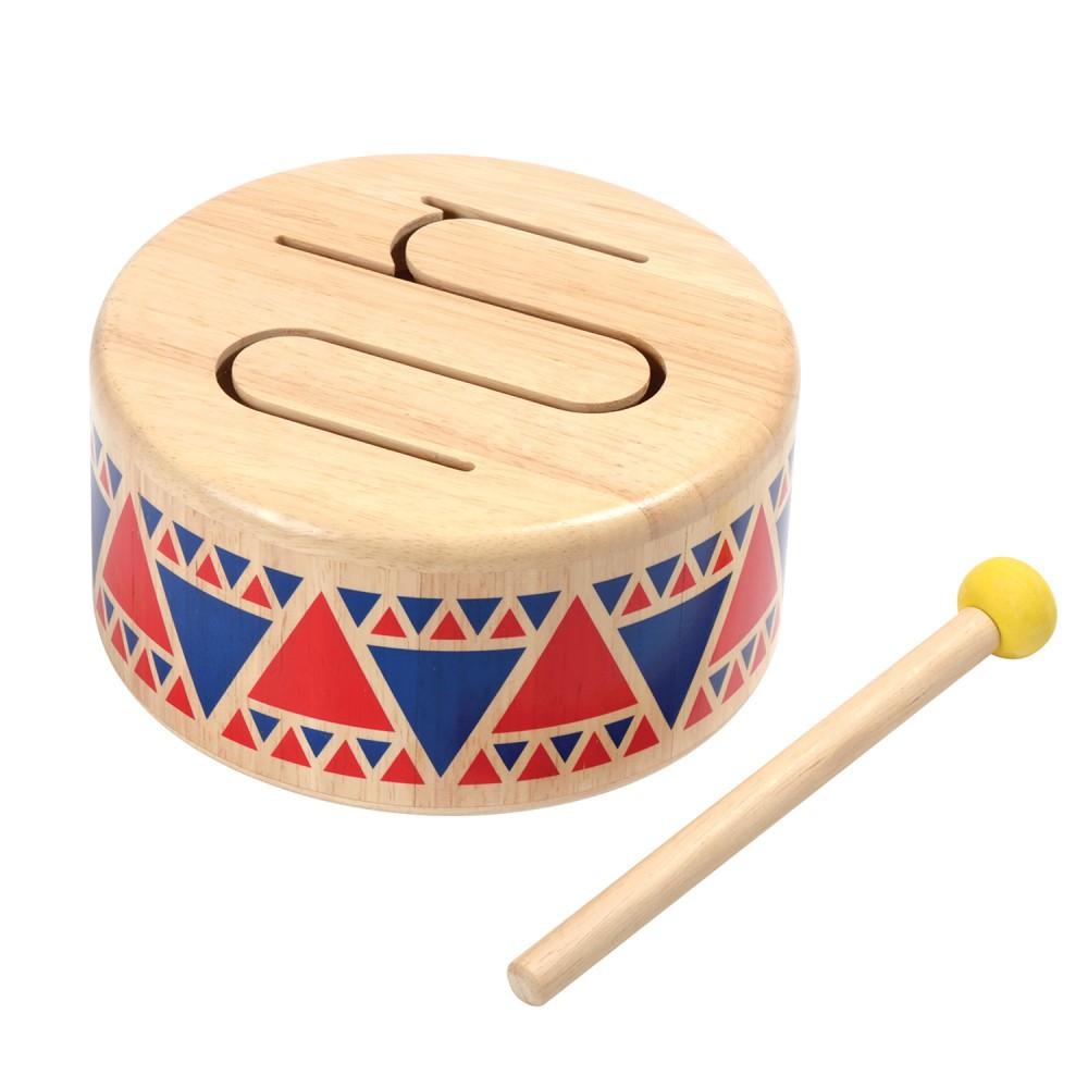 泰國 PLAN TOYS - 木質硬鼓