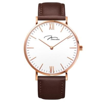 J&V 簡尚系列皮帶腕錶36mm(X01646-Q3.PPWLZ)