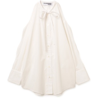 COURREGES(クレージュ)/SHIRT LONG WITHOUT COLLAR