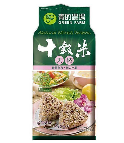 日正 青的農場 十穀米 1.2kg (12入)/箱【康鄰超市】