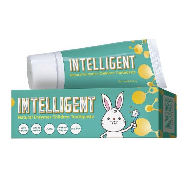 Intelligent 因特力淨 兒童酵素牙膏-原味 (40g/條)【杏一】