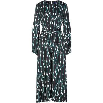 《セール開催中》ANONYME DESIGNERS レディース ロングワンピース&ドレス ブラック XL ポリエステル 100%