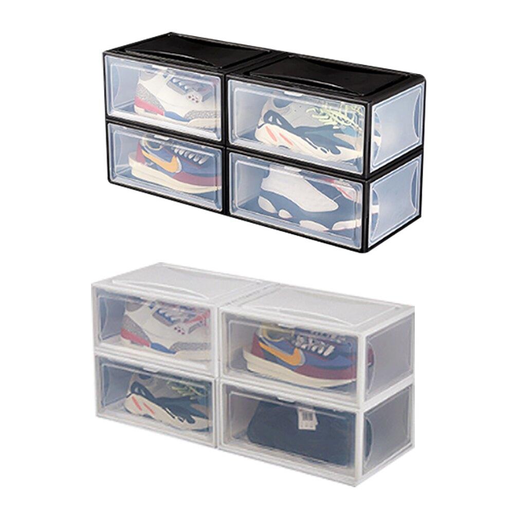 磁吸式 側開 透明鞋盒 48碼 籃球鞋 運動鞋盒 籃球鞋收納 高跟鞋收納 男鞋 女鞋收納盒 運動鞋