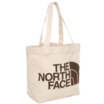 The North Face Utility Tote 帆布手提包 米白-NF0A3VWQR17