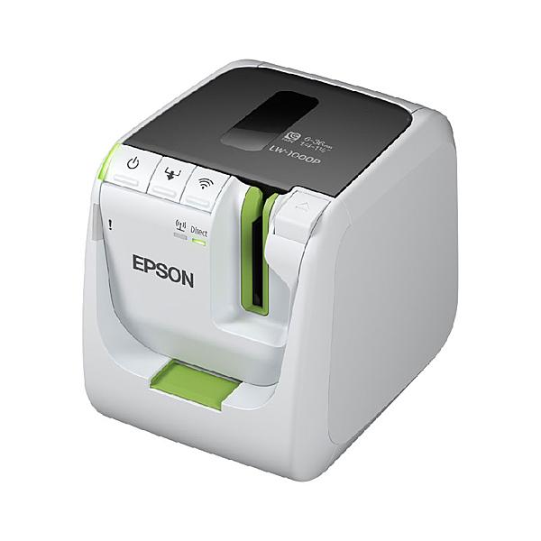 【限時促銷】EPSON LW-1000P 產業專用高速網路條碼標籤機